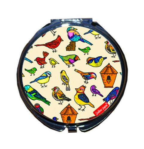 Selina-Jayne Birds Limited Edition Compact Mirror
